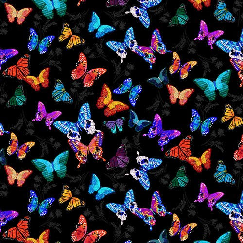Mariposa Dance by Blank Quilting, Patchwork Baumwolle