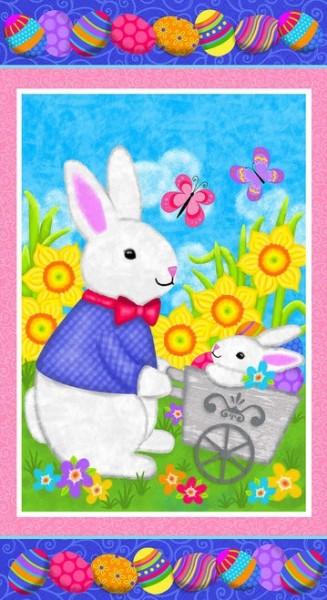 Hello Spring by Studio E, Patchwork Cotton