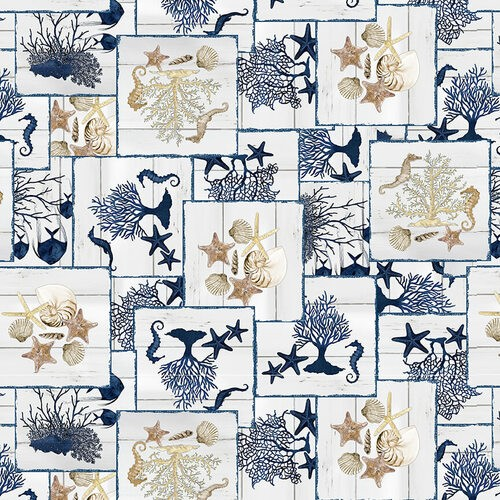 Seaside Serenity by Blank Quilting, Patchwork Baumwolle