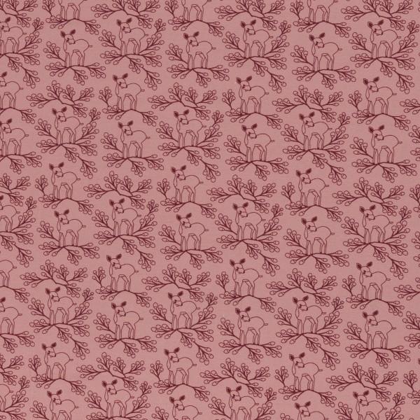 Deerberry by jolijou, Jersey Baumwolle