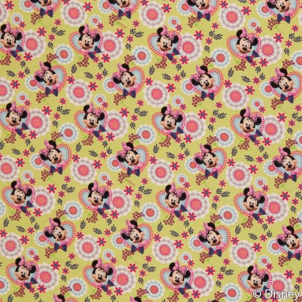 Disney-Jersey *Minnie*, Jersey Baumwolle
