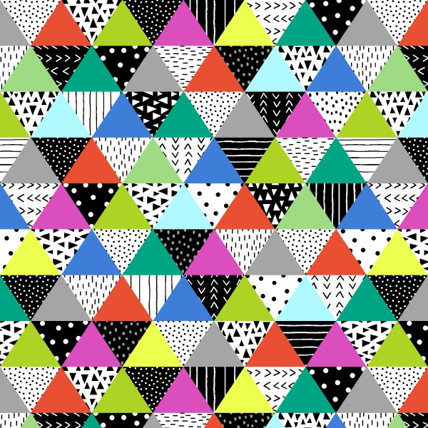 Black And White With A Touch Of Bright by Studio E, Patchwork Cotton