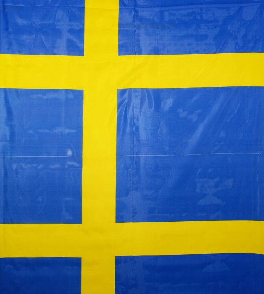 Schweden, Polyester Webware, Flagge Schweden