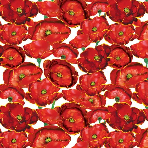 Poppy Days by Studio E, Patchwork Baumwolle