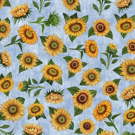 Sunrise Farms by Quilting Treasures, Patchwork Cotton