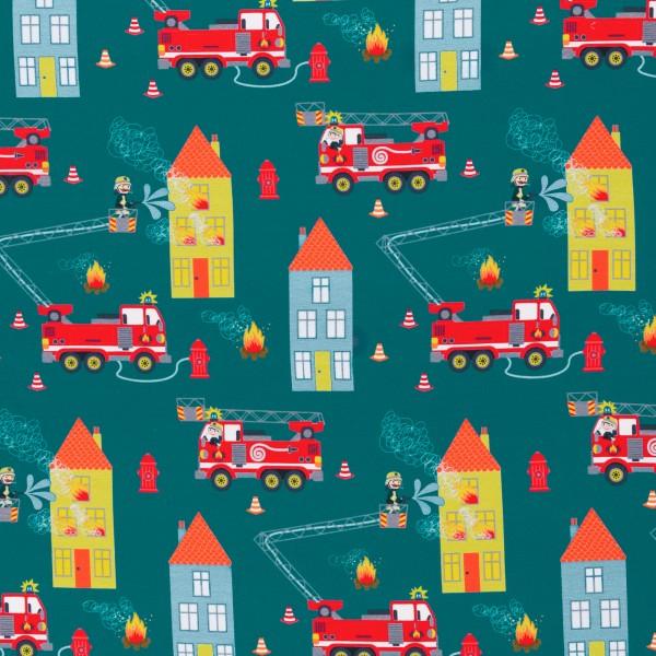 Feuerwehr, Tatütata by Sandra Kretzmann, Sweat angeraut