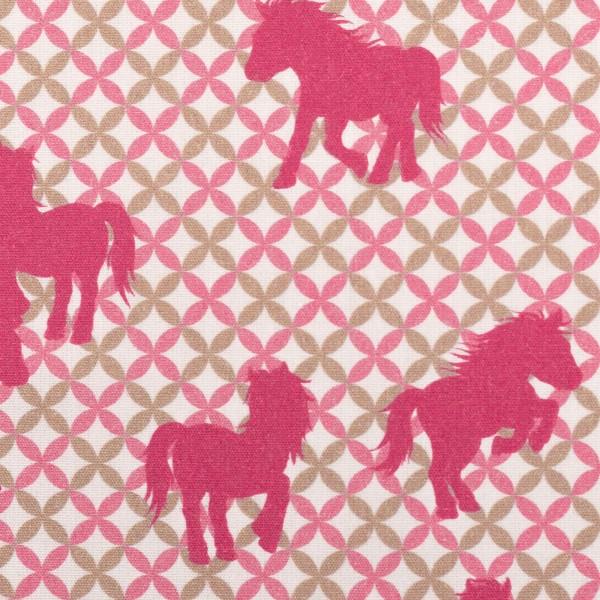 Free Horses by Steinbeck, Baumwolle Webware