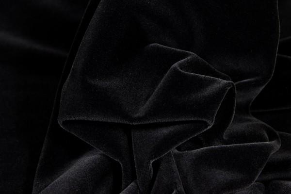 Brillant - Samt * Universalsamt *, Velvet, Plain, dark brown