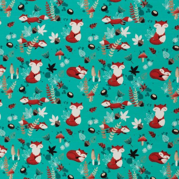 My little Foxy by Christiane Zielinski, Jersey Baumwolle