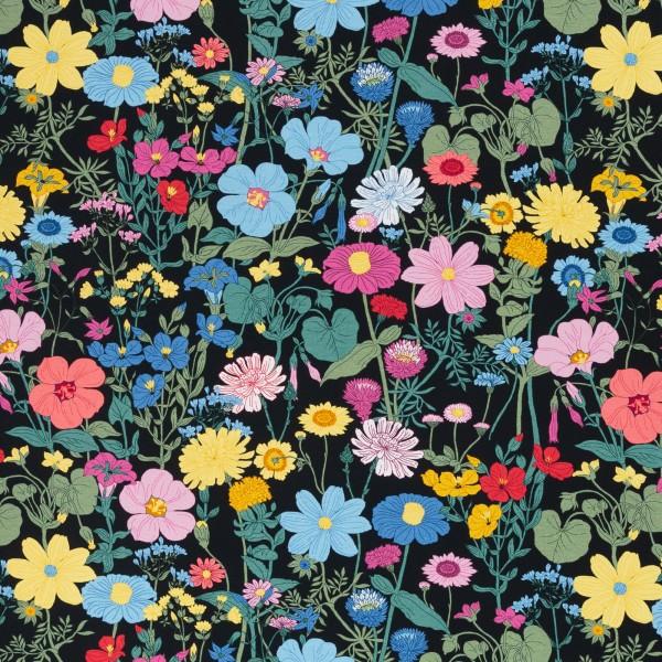 Vintage Botanical, Jersey Baumwolle