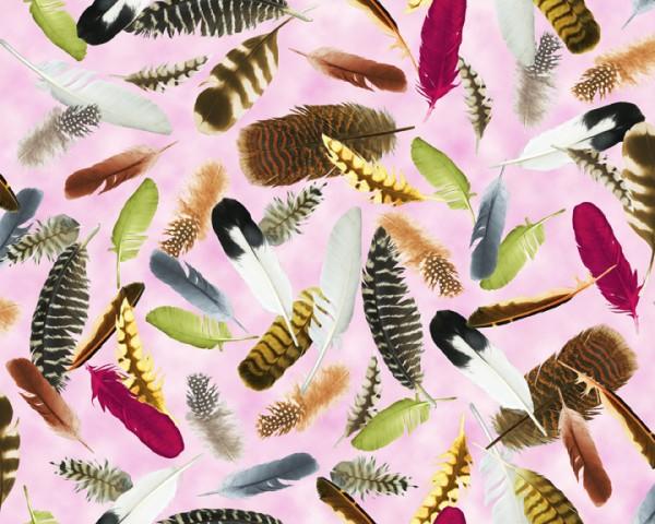 Hummingbird Garden by Quilting Treasures, Patchwork Baumwolle