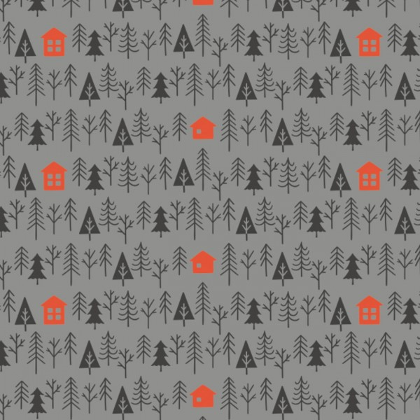 Reindeer Lodge by Camelot, Patchwork Cotton