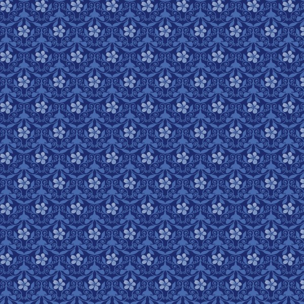 Blue Jubilee by Blank Quilting, Patchwork Cotton