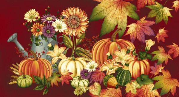 Autumn Album by Henry Glass, Patchwork Cotton