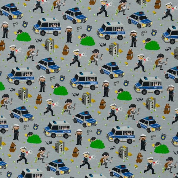 Gangsterjagd by Sandra Kretzmann, Jersey Baumwolle