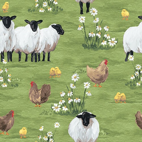 French Hill Farms by Blank Quilting, Patchwork Cotton