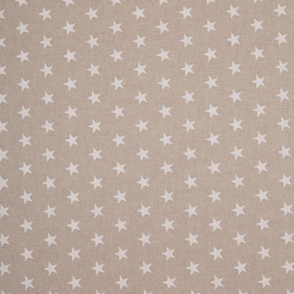 Emil, Linen Like, Graphical Pattern, beige