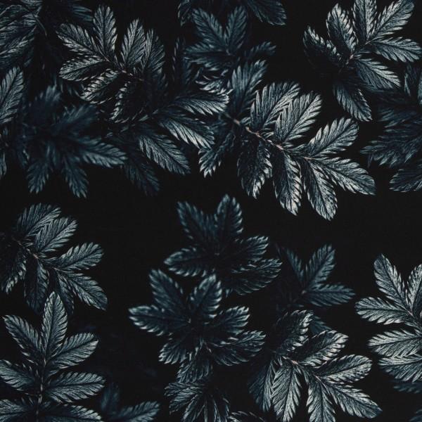 Dark Leaves by Thorsten Berger, Viskose Webware