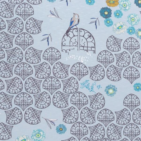In the Garden by Bienvenido Colorido, Slub-Jersey