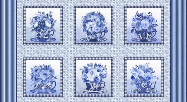 Blue Jubilee by Blank Quilting, Patchwork Baumwolle