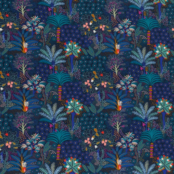 Tropical Forest, Cotton Jersey