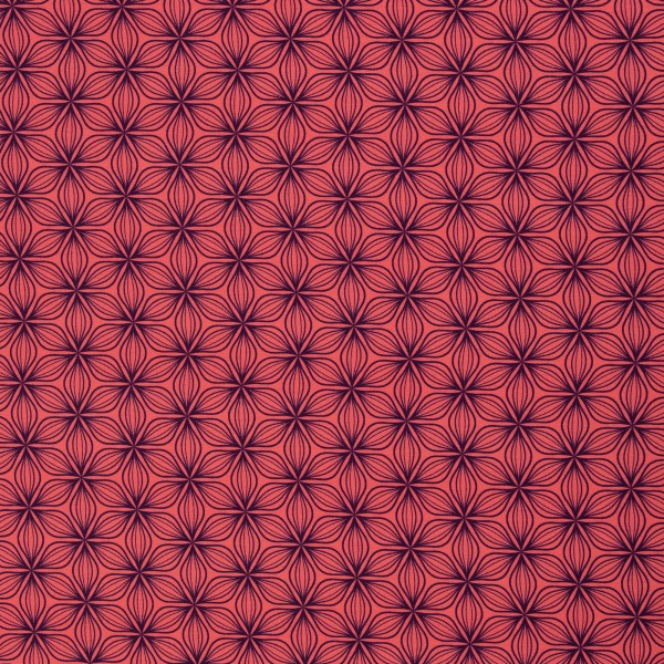 Puristic Flowers by lycklig design, Jersey Viskose