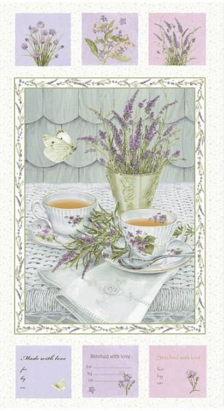 Lavender Garden by Henry Glass, Patchwork Baumwolle